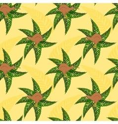 Seamless pattern with symbols of New Zealand kiwi vector image