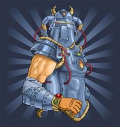 mars god of war vector image vector image