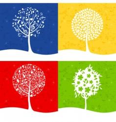 tree7 vector image vector image