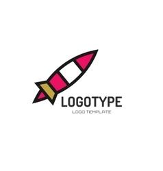 Abstract logo design elements arrows vector