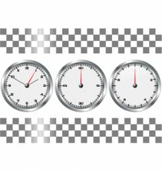 chronographs vector image