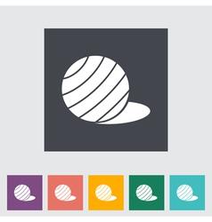 fittball vector image