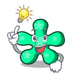 Have an idea free form mascot cartoon vector