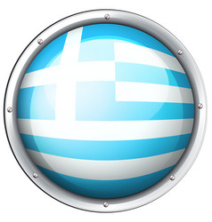 icon design for greece vector image