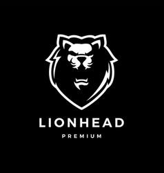 Lion head logo icon lion head logo icon vector