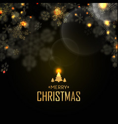 merry christmas design postcard vector image