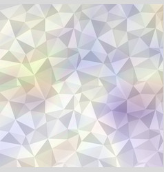 polygonal mosaic background in soft colors vector image