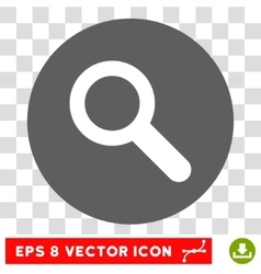 Search Round Eps Icon vector image