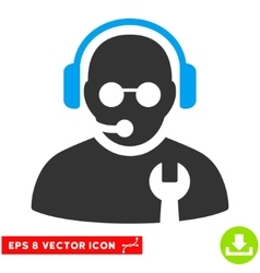 Service Operator Eps Icon vector image