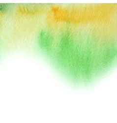 Watercolor abstract summer background vector