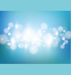 white blur abstract background bokeh christmas vector image