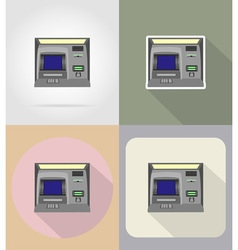 Business and finance flat icons 05 vector