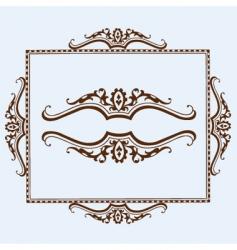 border elements vector image vector image