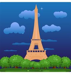 Eiffel vector image vector image