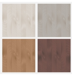 The set of patterns wood texture vector image