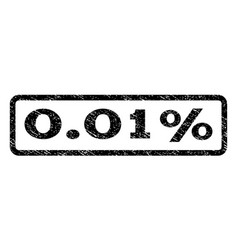 001 percent watermark stamp vector