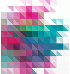 Abstract background pattern with triangles and vector