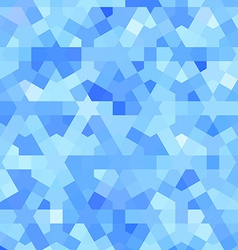 Blue background with arabic texture vector image