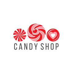 Candy shop logo vector