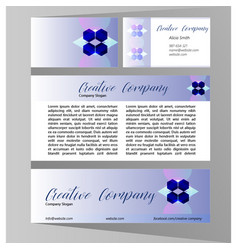 company design concept vector image
