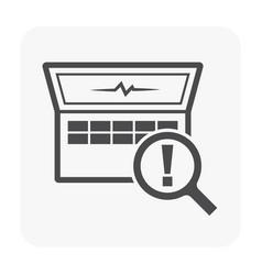 Computer repair icon vector