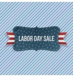 Labor Day Sale national Emblem vector image