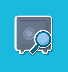 safety box icon vector image
