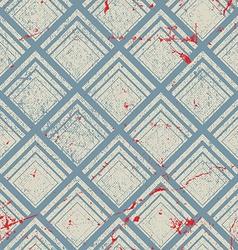 Vintage geometric seamless pattern repeat vector image