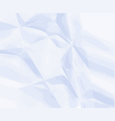 white paper wrinkled texture for background vector image