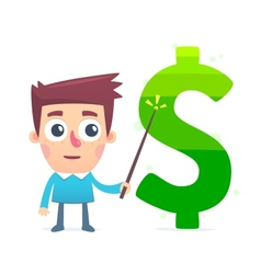 Study of Financial Market vector image