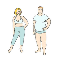 concept of diet vector image