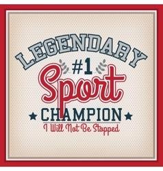 Sport Badge Template vector image