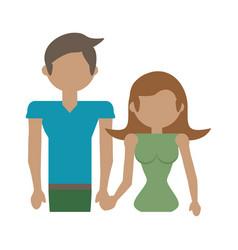 Couple family parents image vector