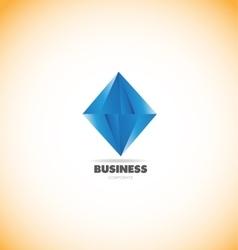 Business corporate diamond logo icon vector image vector image