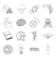Cosmetics cooking sports and other web icon in vector