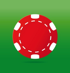 poker chips vector image