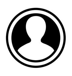avatar icon male person symbol circle user vector image