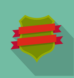 badge design icon flat style vector image