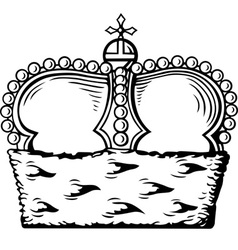 Crown vector
