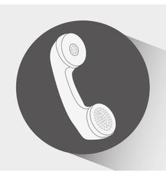 customer service icon design vector image