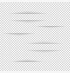 design elements on isolated background gray colour vector image