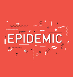 Epidemic word concept vector