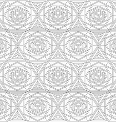 monochrome mosaic seamless texture vector image
