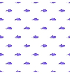 Women sneakers pattern cartoon style vector