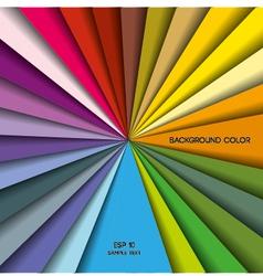 palette vector image vector image