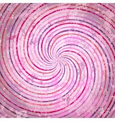 Pink swirls background vector image