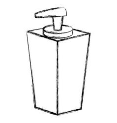 soap bottle dispenser icon vector image