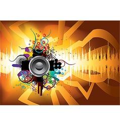 sound 09 vector image vector image