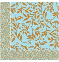 ivy pattern vector image vector image