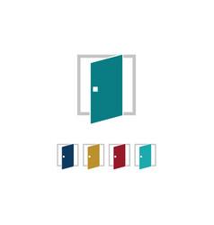 window construction icon logo vector image vector image